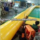 Fire resistance PVC mine ventilation duct/ tunnel duct with eyelet and zipper