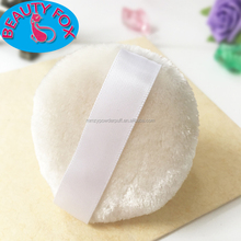 Eco-friendly Makeup Foundation Beauty Cosmetic Tools Cotton Velboa Talc Powder Puff For Baby Care