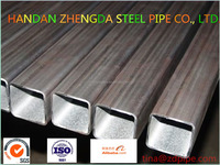 Standard HFW welded square and rectangular steel/iron pipe/tube