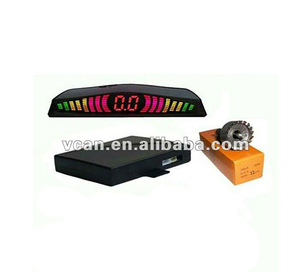 Rainbow LED Display front Parking Sensor -VCAN0384-3