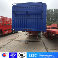 3 Axle 40ft Bulk Cargo Transport
