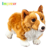 2017 New christmas gift perfect shepherd dog plush toy