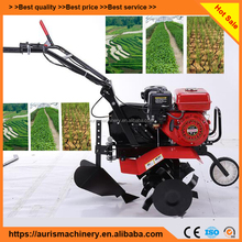 Farming Soil Portable Hand Operating Type Micro Tillage Ploughing Machine