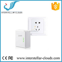 Standard Power Line Internet 450 Mbps Adapter - Internet over Current 802.11 b/g/n Wifi Power socket AV adapter