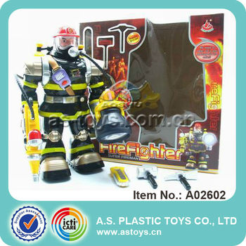 RC fireman robbot toy