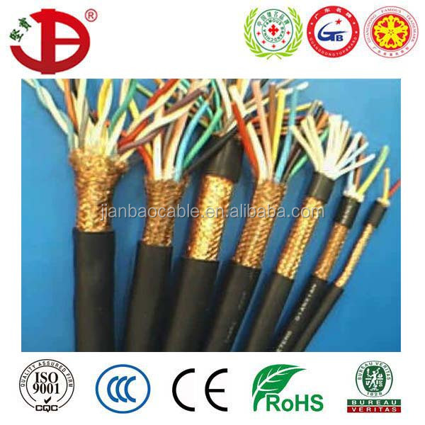 Multi Core F-Cvv-Sb Cable Copper Wire Screened Control Cable