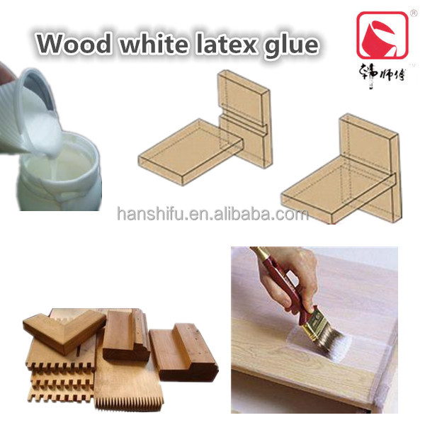 Laminating adhesive for wood puzzle use white latex glue