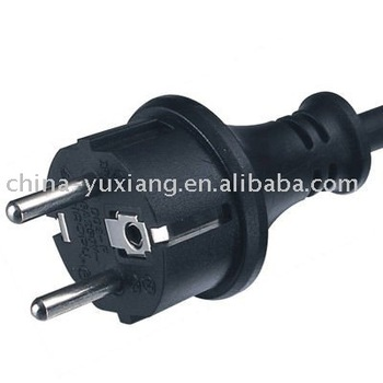 IP44 Euro waterproof electric plug
