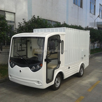 mini electric truck with cargo box