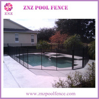 ZNZ welcome ODM swimming security aluminum pool fence used