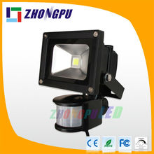 20W PIR LED Floodlight dc12v 24v led flood light huizhuo lighting