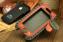 """Duke"" cell phone case/leather cell phone cases for iPhone 5 5S 5C"
