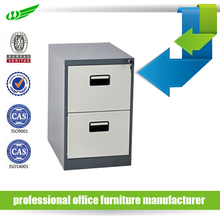 hanging verticle 2 drawer office steel filing cabinet