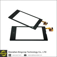 100% tested OEM for nokia lumia 520 touch screen glass digitizer repair part