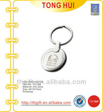 Laser Taco bell logo key chain/key rings for promotion gifts
