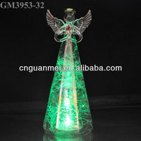 Cheap Wholesale Crystal Glass Angel Figurine Factory Supplier