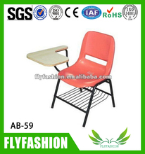 training chair with tablet/writing tablet chairs/student chairs with tablet