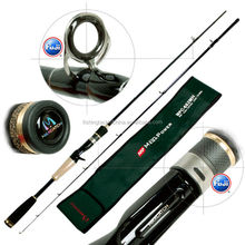 Fuji Guides And Reel Seat Carbon Fishing Casting Rod