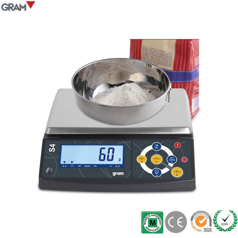 30kg / 10g 2017 Hot Sales S4 Series LCD Display Digital Weighing Scale