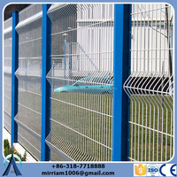 High quality 50*50mm cheap sheet metal fence panels/sheet metal fence panels/ livestock metal fence panels