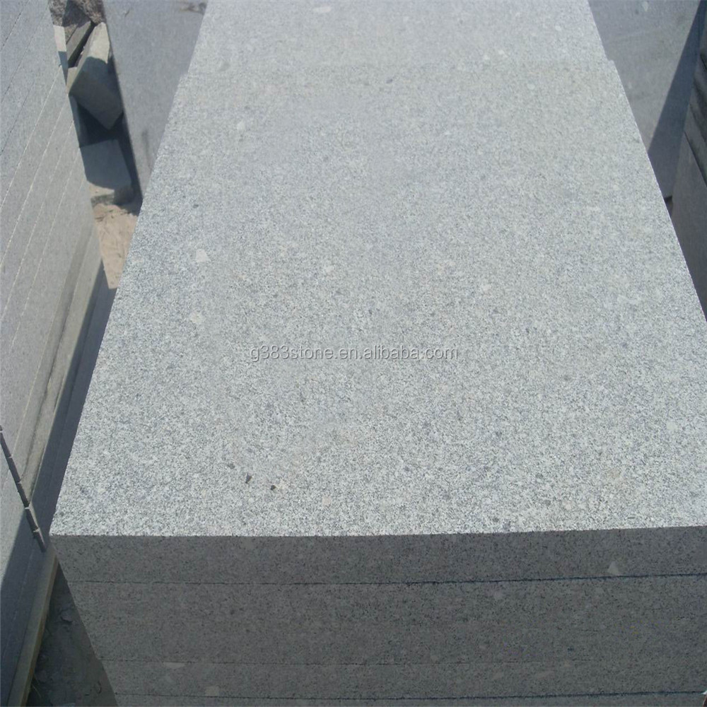 Natural steel brushed grey granite tiles g603 honed & flamed