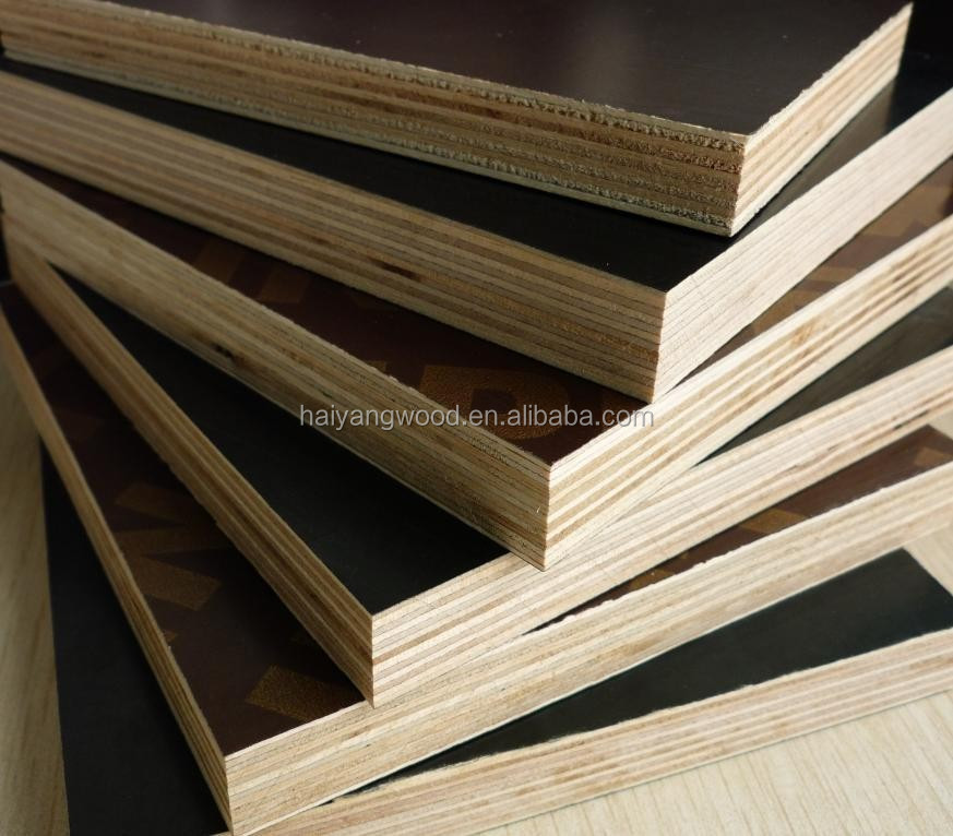 first-class 18mm marine waterproof & anti-slip plywood first grade melamine