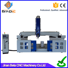 High effect EPS Automatic 3d wood carving routing cnc router mini machine price for plastic marble MDF