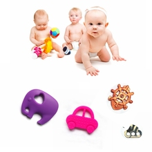 2014Hot Inflatable Toys Promotion New Design Silicone Teething Silicone Baby Teether &Stuffed Giraffe Toy