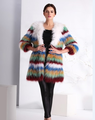 RC2 wholesale Knitted raccoon fur coat for women