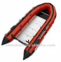 Inflatable Aluminum Boat