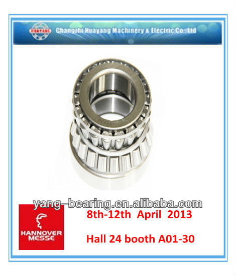 Gcr15 tapered roller bearing 31319 for machinery