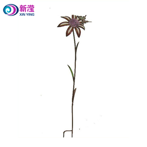 Metal sunflower garden stakes wholesale outdoor metal sunflower garden stakes