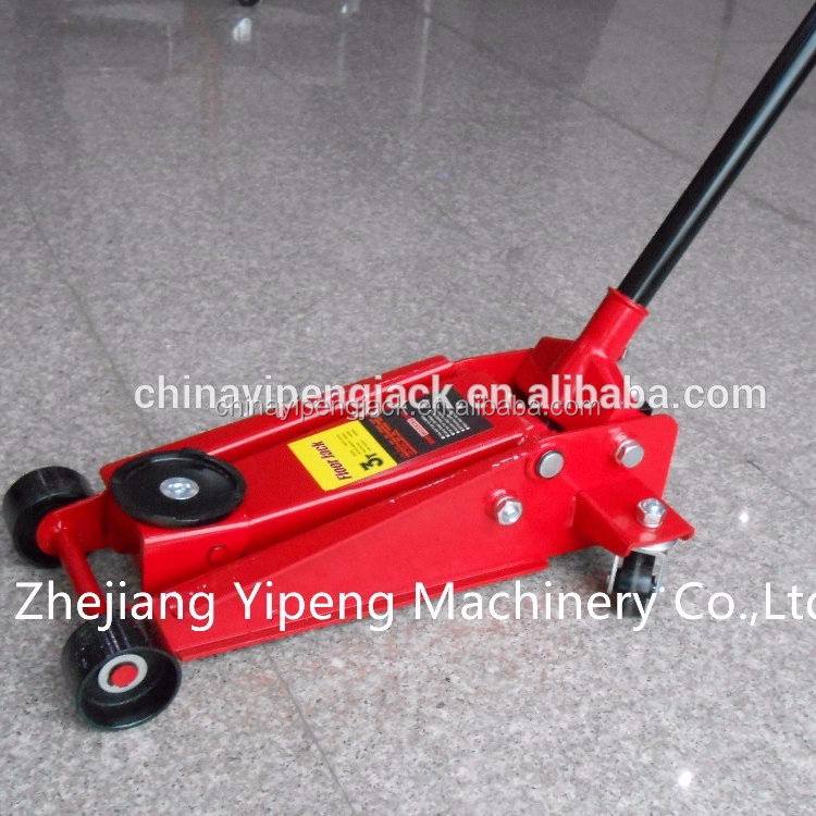 3 Ton Short Wheel Base Low Level Trolley Jack