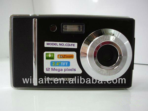 8MP CMOS Sensor Big size screen high-quality digital camera cheap price for uncoming Christmas Holiday