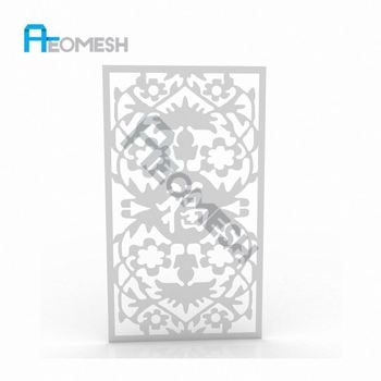 Made in Guangzhou Professional Factory Chinese element laser stereotypes Decorative Metal Perforated Mesh