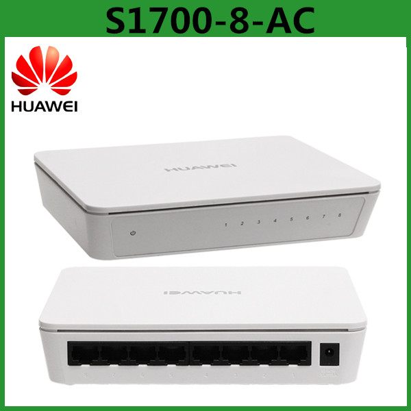 AC Switch Power Supply Huawei S1700-8-AC Ethernet Network Switch