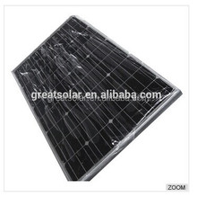 Portable and flexible 140W Mono Solar panel,China Professional Solar PV Modules Manufacturer