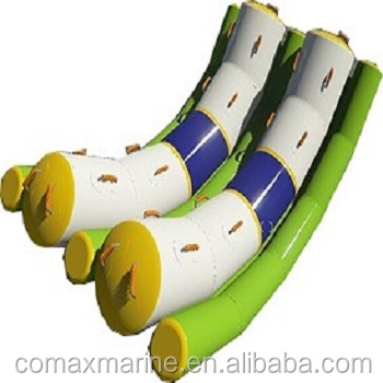 2018 COMAX water park equipment outdoor water inflatable seesaw, PVC material for sale