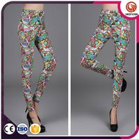 Wholesale 2015 Fashion Ladies Elegant Jeans Leggings (Mix 3 styles)