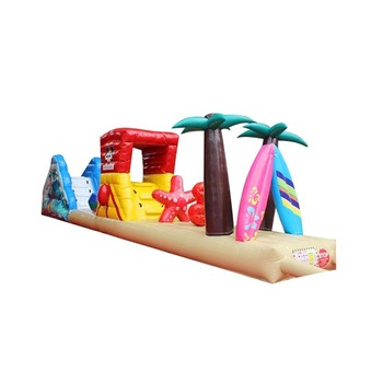 Cheap inflatable water floating obstacle course for sale