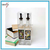 spray color roast flower empty bottles for olive oil