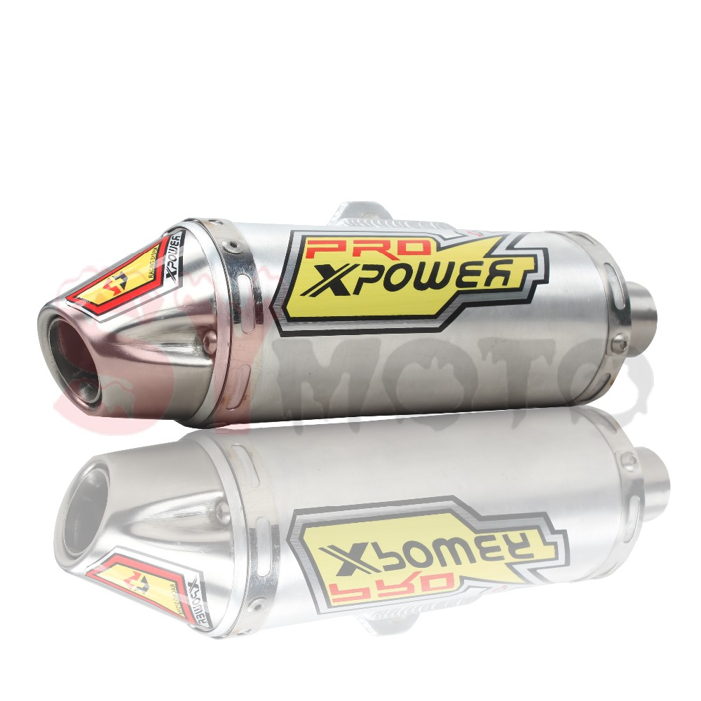 Cross-country motorcycle accessories, T4 exhaust system pipe