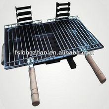 Chrome Plated BBQ Porcelain Enamel Portable Charcoal Grill BG-318A
