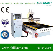 Philicam 1325 cnc router 3spindles ATC wood cnc machine