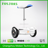 2016 New Product scooter 50cc removable battery Fosjoas U1 Airwheel S6 self balancing scooter two wheel with seat