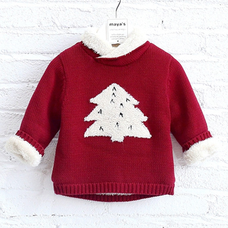 Hot selling winter children latest sweater designs for girls