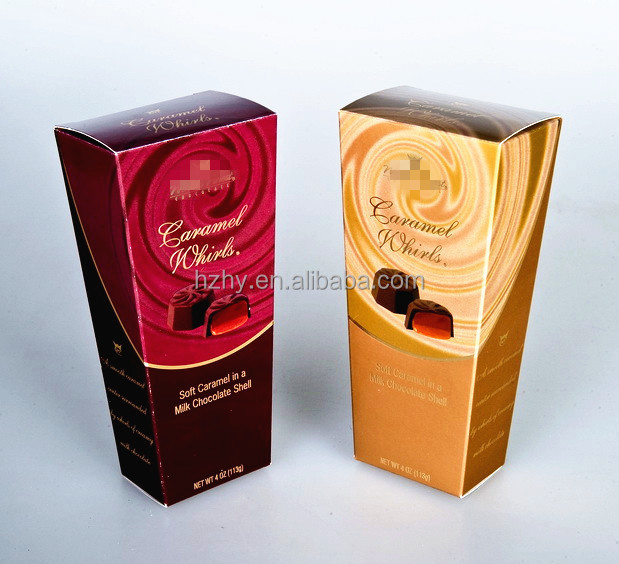 Custom Cardboard Candy Chocolate Box Packaging