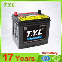 12V Starting car batteries MF car battery 55D26