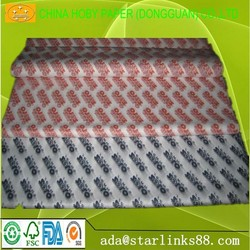 printing tissue paper/silk paper in sheet MF/MG wraping paper for gift per ream