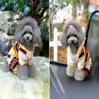 2013 new pet Autumn and winter warm clothes,Pet products